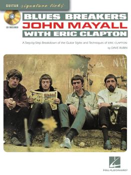 Blues Breakers with John Mayall & Eric Clapton: A Step-By-Step Breakdo (HL-00696374)