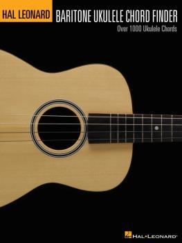 Hal Leonard Baritone Ukulele Chord Finder (HL-00696377)