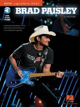 Brad Paisley: A Step-By-Step Breakdown of the Guitar Styles and Techni (HL-00696379)