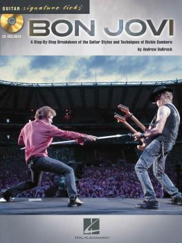 Bon Jovi: A Step-by-Step Breakdown of the Guitar Styles and Techniques (HL-00696380)