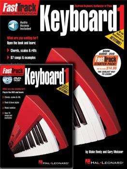 FastTrack Keyboard Method Starter Pack: Book/Online Audio/DVD Pack (HL-00696406)