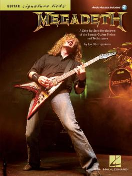 Megadeth - Signature Licks: A Step-by-Step Breakdown of the Band's Gui (HL-00696421)