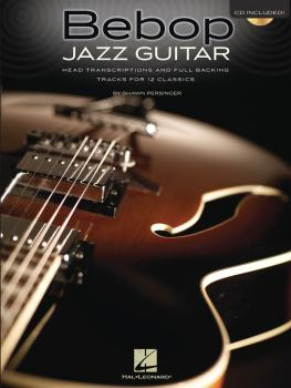 Bebop Jazz Guitar: Head Transcriptions and Full Backing Tracks for 12  (HL-00696424)