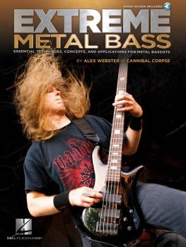 Extreme Metal Bass: Essential Techniques, Concepts, and Applications f (HL-00696448)