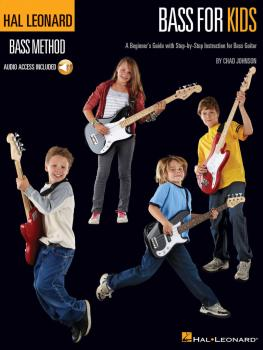 Hal Leonard Bass for Kids: A Beginner's Guide with Step-by-Step Instru (HL-00696449)