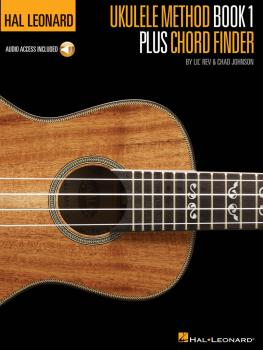 Hal Leonard Ukulele Method Book 1 Plus Chord Finder (HL-00696472)