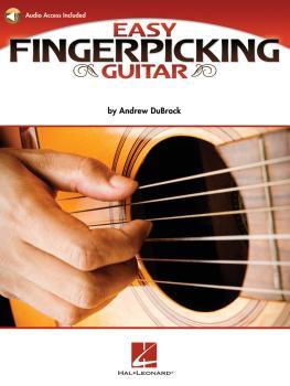 Easy Fingerpicking Guitar: A Beginner's Guide to Essential Patterns &  (HL-00696475)