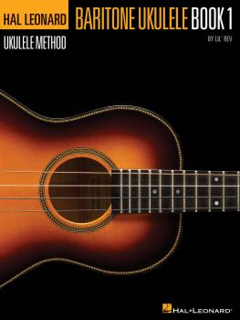 Hal Leonard Baritone Ukulele Method - Book 1 (HL-00696552)