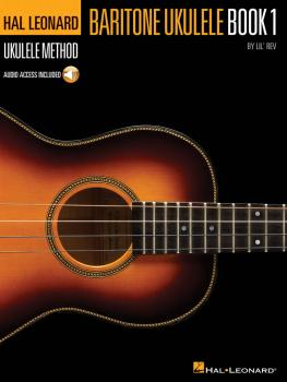 Hal Leonard Baritone Ukulele Method - Book 1 (HL-00696564)