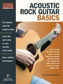 Acoustic Rock Guitar Basics: Access to Audio Downloads Included (HL-00696601)
