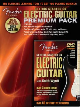 Fender Presents Getting Started on Electric Guitar - Premium Pack (HL-00696649)