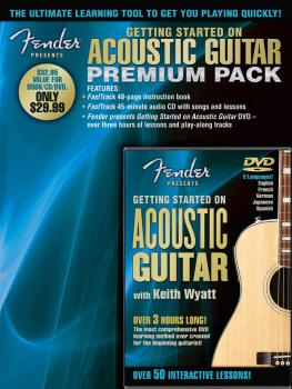 Fender Presents Getting Started on Acoustic Guitar - Premium Pack (HL-00696650)