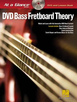 Bass Fretboard Theory - At a Glance (HL-00696659)