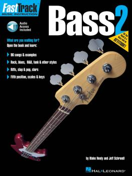 FastTrack Bass Method - Book 2 (HL-00697294)