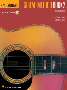 Hal Leonard Guitar Method Book 2 (Book/CD Pack) (HL-00697313)