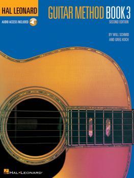 Hal Leonard Guitar Method Book 3 - Second Edition (Book/Online Audio) (HL-00697316)