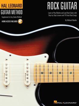 Hal Leonard Rock Guitar Method (Book/Online Audio) (HL-00697319)