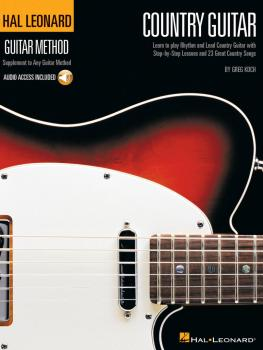 Hal Leonard Country Guitar Method (HL-00697337)