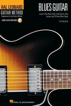 Hal Leonard Guitar Method - Blues Guitar: 6 inch. x 9 inch. Edition (HL-00697344)