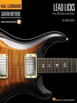 Lead Licks: Over 200 Licks in All Styles Hal Leonard Guitar Method (HL-00697345)