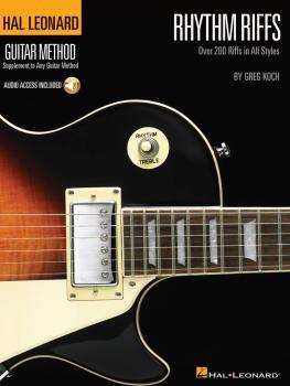 Rhythm Riffs: Over 200 Riffs in All Styles Hal Leonard Guitar Method (HL-00697346)