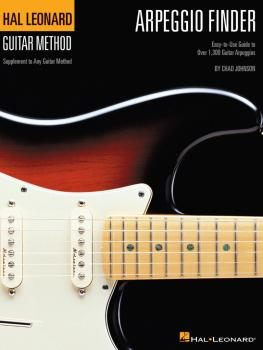 Arpeggio Finder: Easy-to-Use Guide to Over 1,300 Guitar Arpeggios Hal  (HL-00697351)