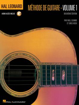 Hal Leonard Guitar Method Book 1 - 2nd Edition: French Edition Book/CD (HL-00697360)