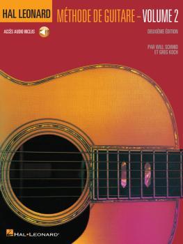 Hal Leonard Guitar Method Book 2 - 2nd Edition: French Language Book/C (HL-00697361)