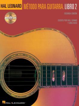 Hal Leonard Método Para Guitarra - Libro 2: Spanish Edition Book/CD Pa (HL-00697367)