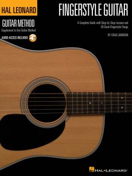 Fingerstyle Guitar Method: A Complete Guide with Step-by-Step Lessons  (HL-00697378)