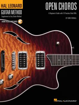 Open Chords: A Beginner's Guide with 18 Timeless Rock Riffs (HL-00697397)