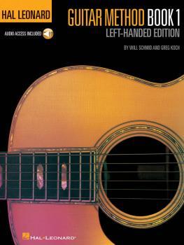 Hal Leonard Guitar Method, Book 1 - Left-Handed Edition (HL-00697399)
