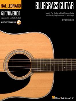 Hal Leonard Bluegrass Guitar Method: Learn to Play Rhythm and Lead Blu (HL-00697405)