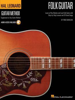 Hal Leonard Folk Guitar Method: Learn to Play Rhythm and Lead Folk Gui (HL-00697414)