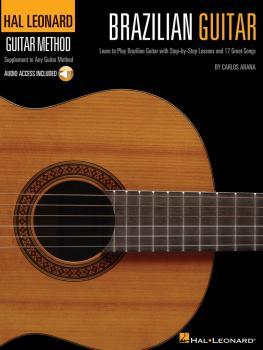 Hal Leonard Brazilian Guitar Method: Learn to Play Brazilian Guitar wi (HL-00697415)