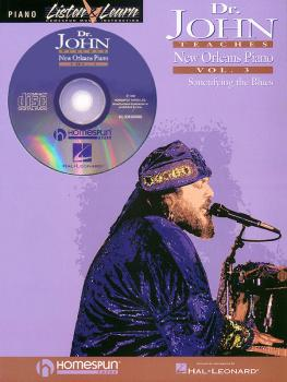 Dr. John Teaches New Orleans Piano - Volume 3 (HL-00699094)