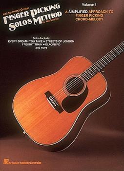 Hal Leonard Guitar Finger Picking Solos Method (Volume 1) (HL-00699210)