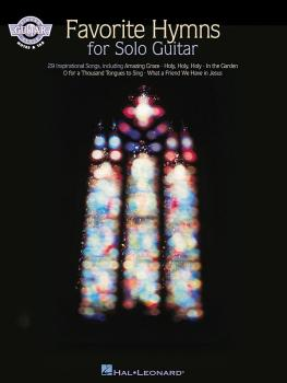 Favorite Hymns for Solo Guitar (HL-00699275)