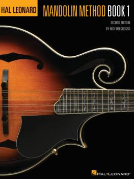 Hal Leonard Mandolin Method - Book 1: Second Edition (HL-00699296)