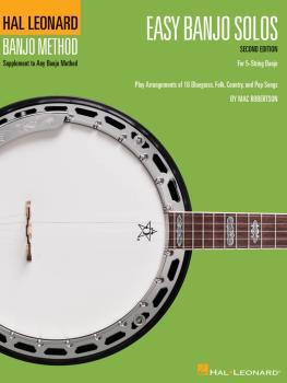 Easy Banjo Solos - Second Edition (For 5-String Banjo) (HL-00699515)