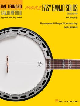More Easy Banjo Solos - 2nd Edition (For 5-String Banjo) (HL-00699516)