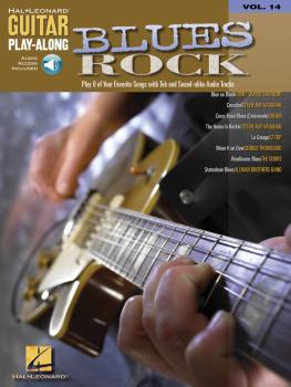 Blues Rock: Guitar Play-Along Volume 14 (HL-00699582)