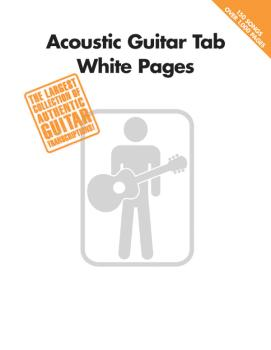 Acoustic Guitar Tab White Pages (HL-00699590)