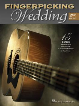 Fingerpicking Wedding: 15 Songs Arranged for Solo Guitar in Standard N (HL-00699637)