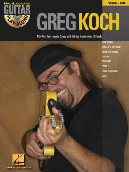 Greg Koch: Guitar Play-Along Volume 28 (HL-00699646)