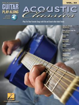 Acoustic Classics: Guitar Play-Along Volume 33 (HL-00699656)