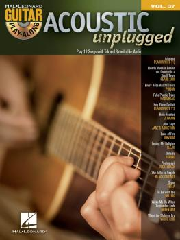 Acoustic Unplugged: Guitar Play-Along Volume 37 (HL-00699662)