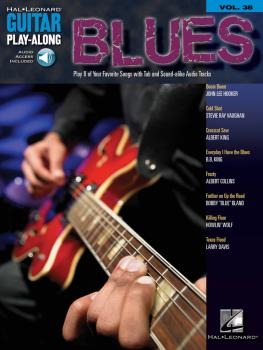 Blues: Guitar Play-Along Volume 38 (HL-00699663)