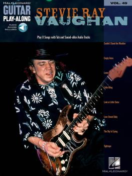 Stevie Ray Vaughan: Guitar Play-Along Volume 49 (HL-00699725)