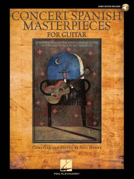 Concert Spanish Masterpieces for Guitar (HL-00699735)